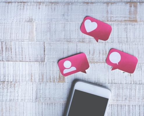 avg en social media